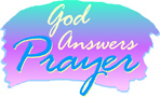 God Answers Prayer (blue)